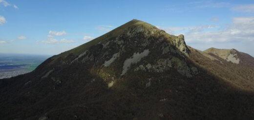 gora beshtau polet nad skalami