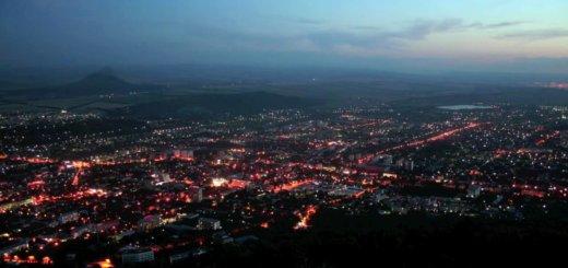 gorod pyatigorsk beshtau groza i