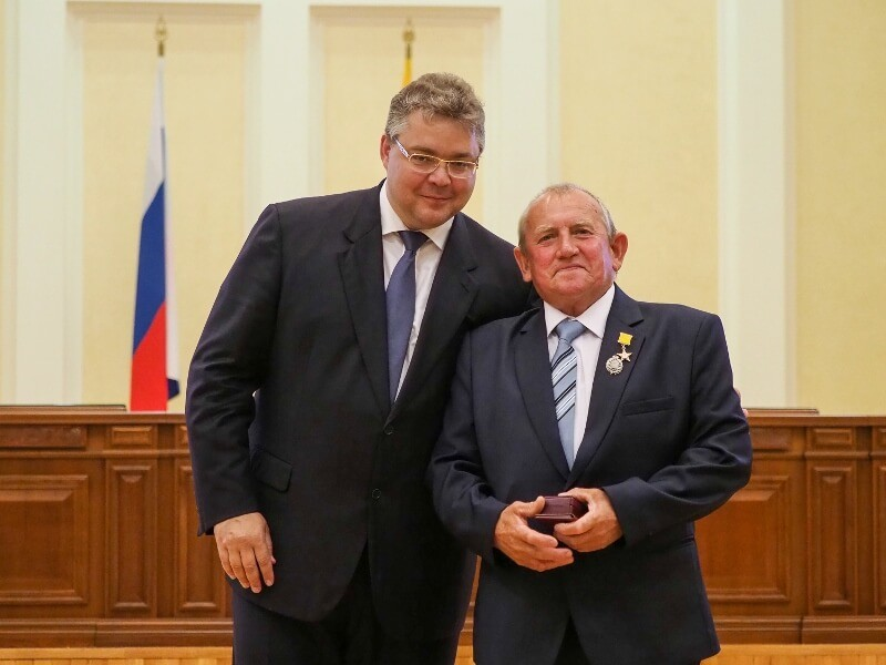 Впервые в истории края медали «Герой труда Ставрополья» удостоен энергетик